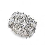 Diamond Ring Cuff