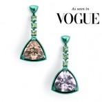 Gemset Cocktail Earrings